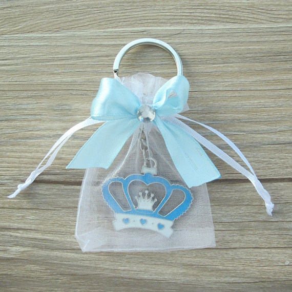 4 pcs Baby shower keychain favor for baby party supply Crochet baby shower thank you for coming cute unique gift for guests