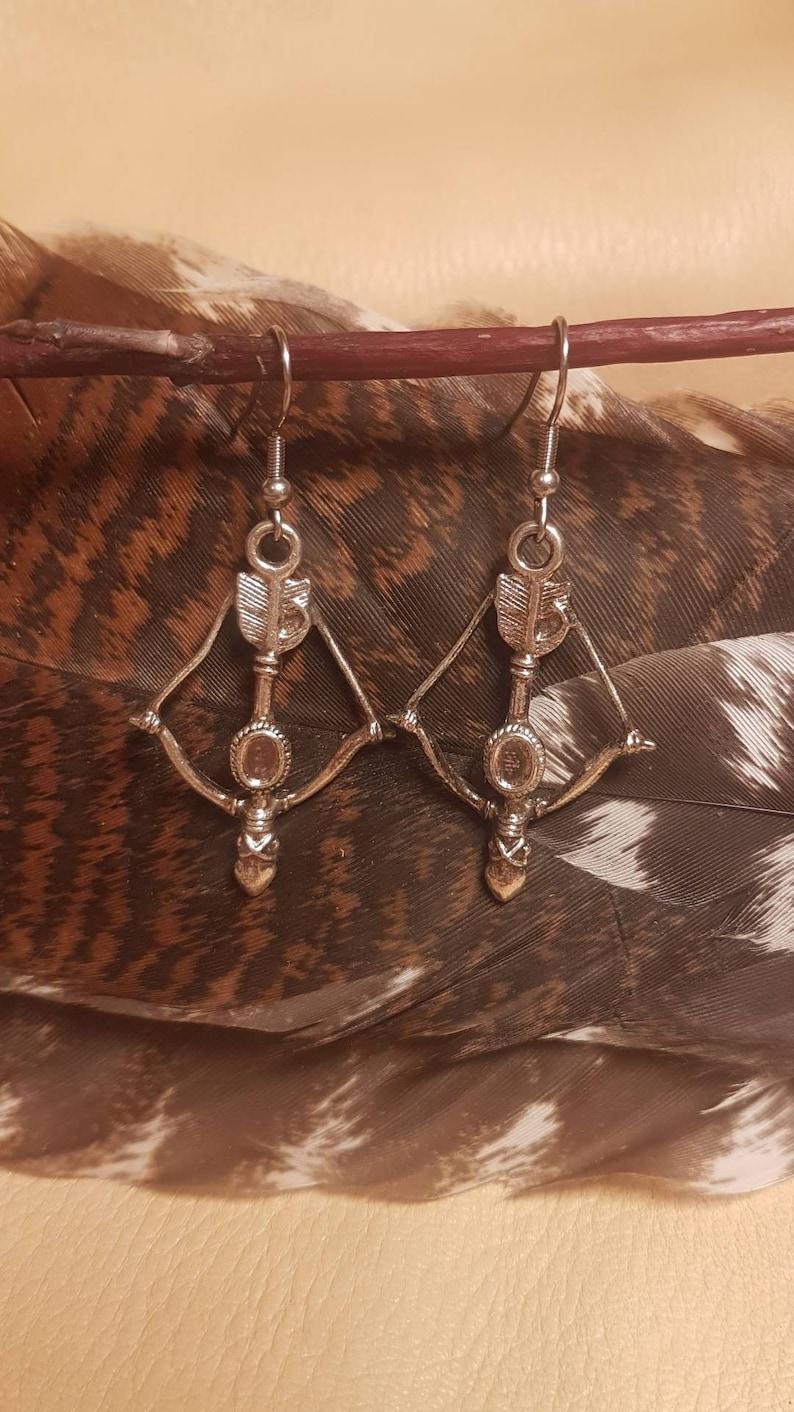 BowHunting Earrings *Hypoallergenic Stainless Steel Earring Hooks