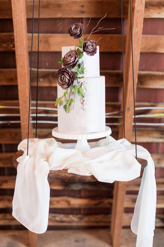 Wonderful Ivory Silk Table Runner Wedding Table Runner Silk Chiffon | Etsy