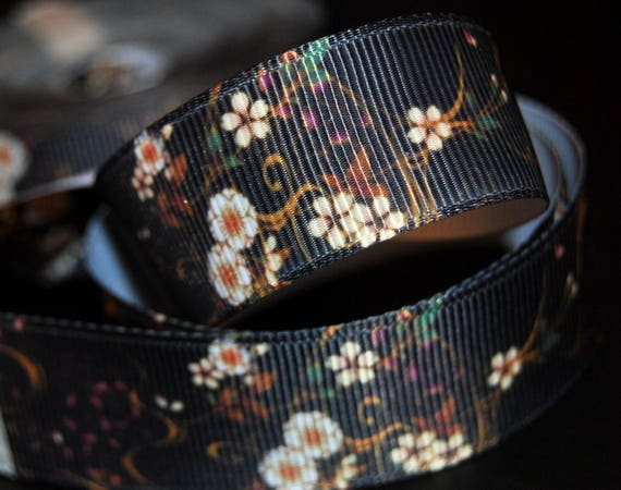 2m Craft Sewing Polka Dot Grosgrain Ribbon 22mm wide 1m 3m in Lavender