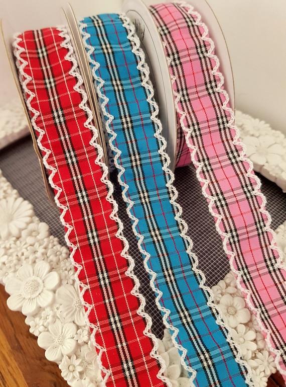 Taffeta Edged Satin Ribbon 16mm in 2m or 3m cut lengths free postage