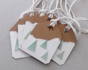 Geldgeschenk Weihnachtsgeschenk Weihnachten Geschenk Deko Pinguin weiß silber