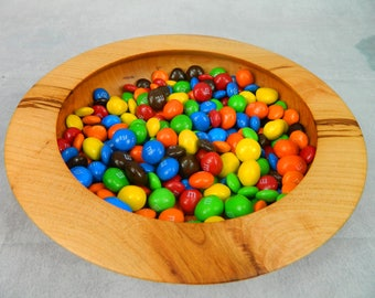 Cherry Candy / Nut Bowl with under cut rim
