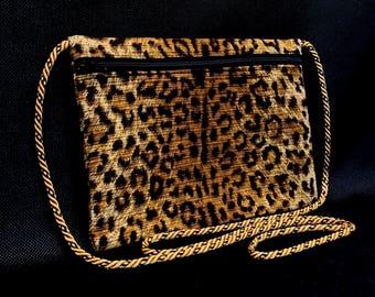 NO RULES Leopard Mini Crossbody