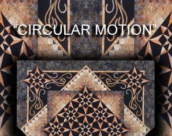 Circular Motion Quilt Pattern