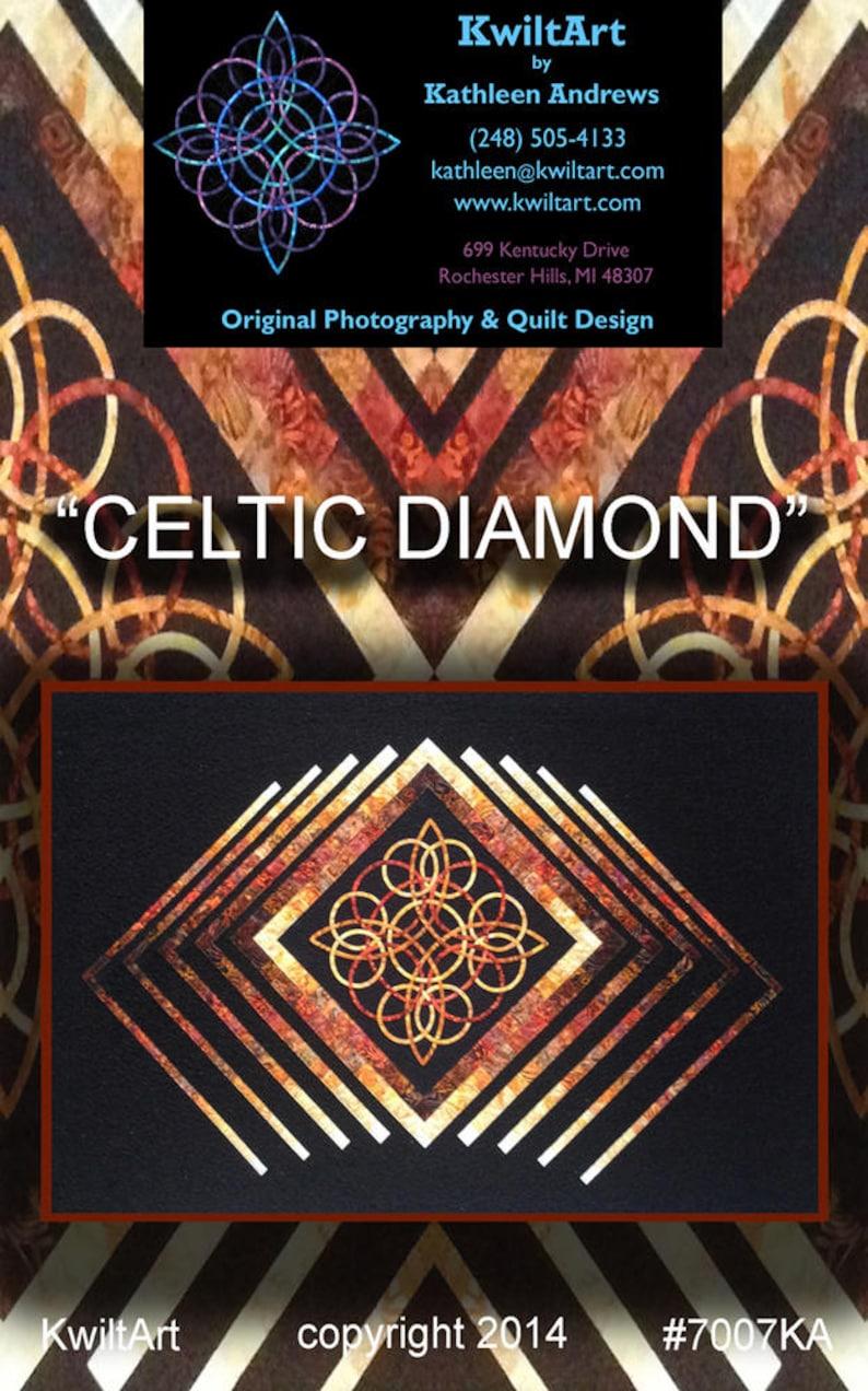 Celtic Diamond Quilt Pattern