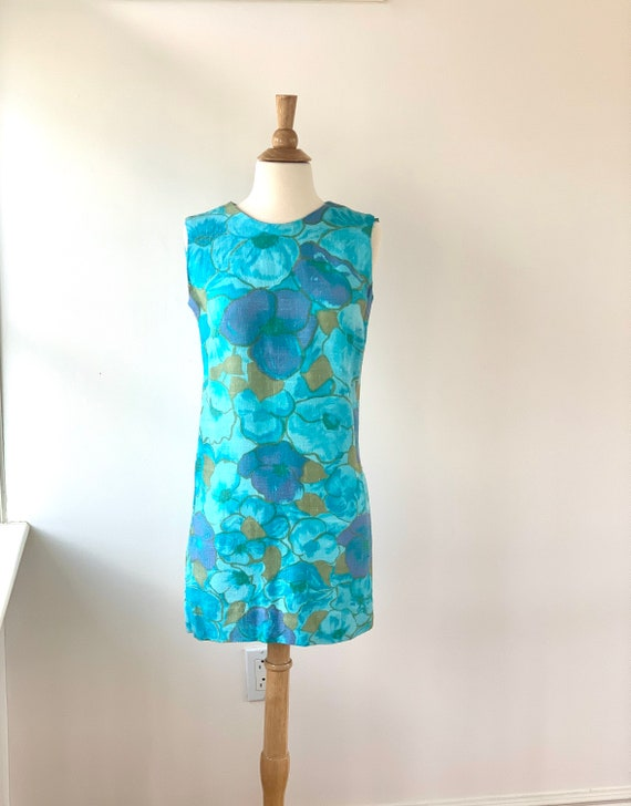 60s Twiggy Dress - XS