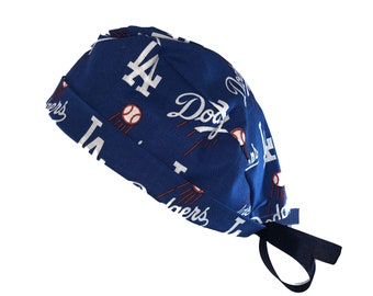 Headwear Surgical Cap LA Dodgers Scrub Cap