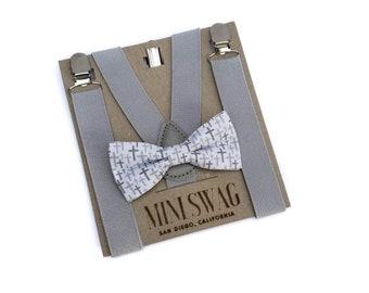 Soul-Cats/® Kids bow tie prebonded adjustable wedding communion confirmation