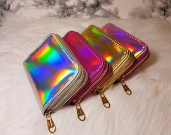 Chrome Wallets || Woman's Gift || Small Good || Accessory