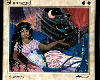 Magic the Gathering Arabian Nights Shahrazad Single Card
