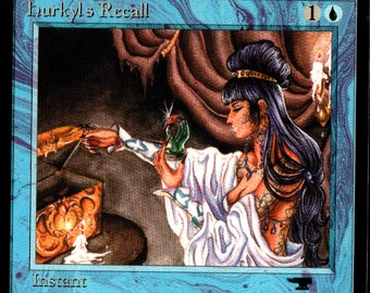Magic the Gathering Antiquities Hurkyl's Recall Single Card