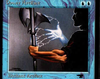 Magic the Gathering Antiquities Power Artifact Single Card