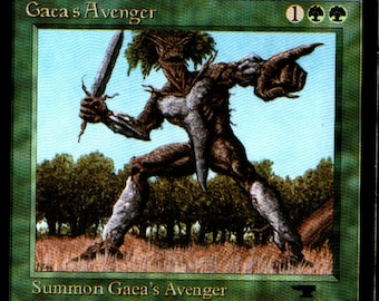 Magic the Gathering Antiquities Gaea's Avenger Single Card