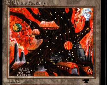 Magic the Gathering Antiquities Mishra's Factory (Fall/Autumn) Single Card