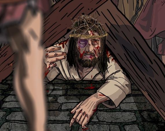 Jesus Falls the Third Time