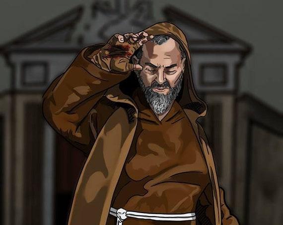 St. Padre Pio poster
