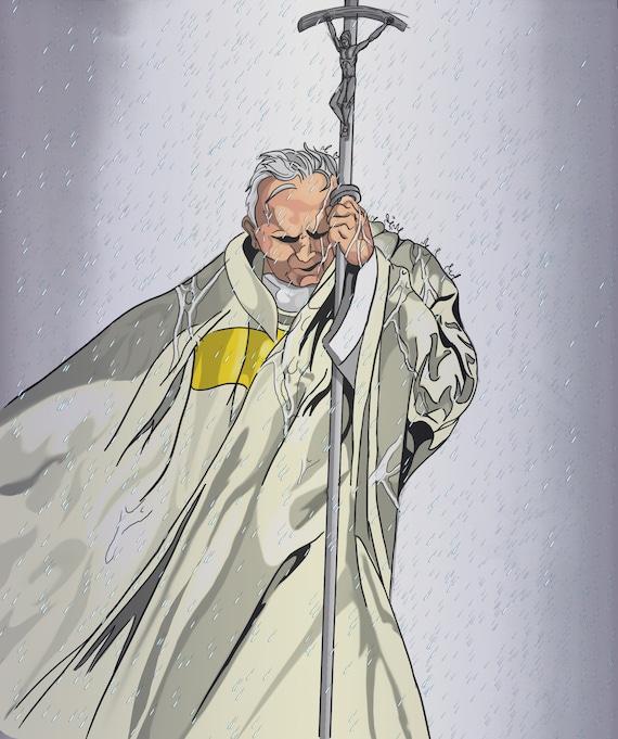 Pope St. John Paul II Poster