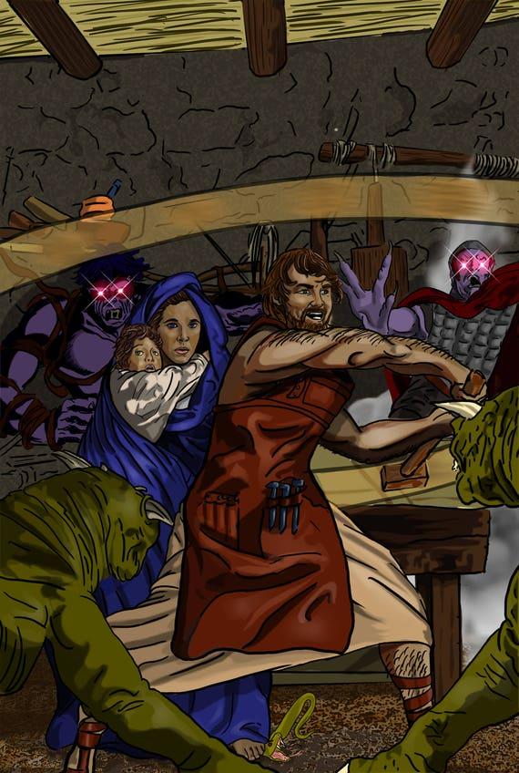 St. Joseph: Terror of Demons Poster