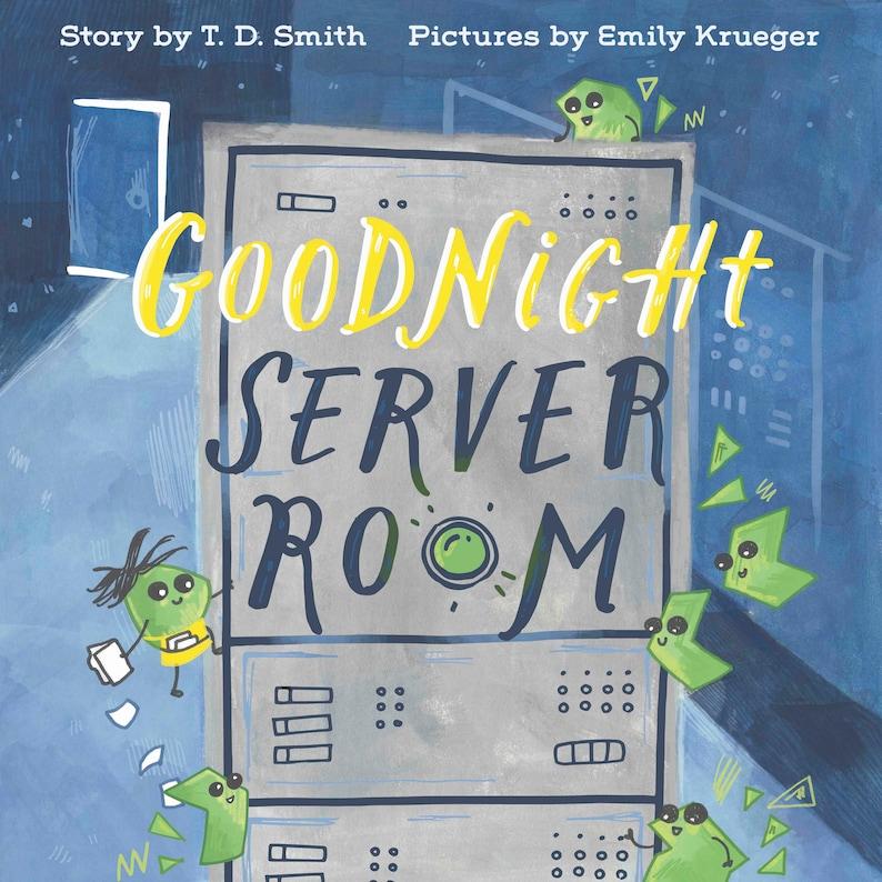 Goodnight Server Room Board Book image 0