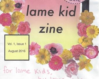 Lame Kid Zines!