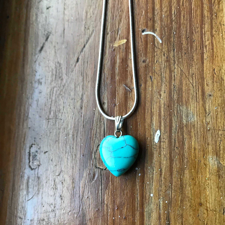 Turquoise necklace turquoise jewelry turquoise pendant blue zoom aloadofball Images
