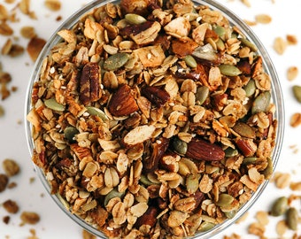 CLASSIC Salty-Sweet Olive Oil Granola (1 12-oz pouch)