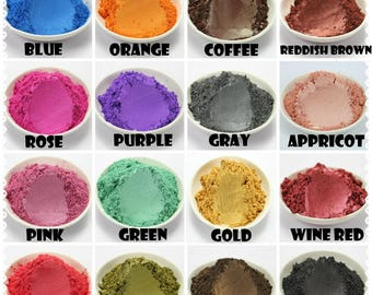 20g Natural Mineral Mica Powder For Soap Dye Makeup Eyeshadow Slime Pigments Colorant Candle Soap Making Supply Hot DIY
