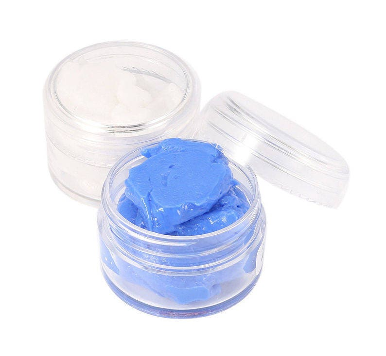 Silicone Putty Food Grade - for Easy Mold Making - Make Your Own Silicone  Mold Kit DIY - Food Safe Mould - Non-Toxic - Blue + White (50g)