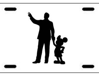 Walt Disney World Mickey Statue License Plate