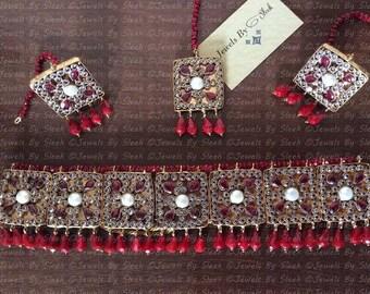 Roshanara Choker set