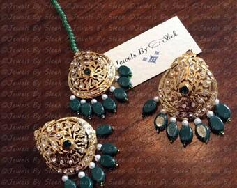 Serina earrings and tikka set