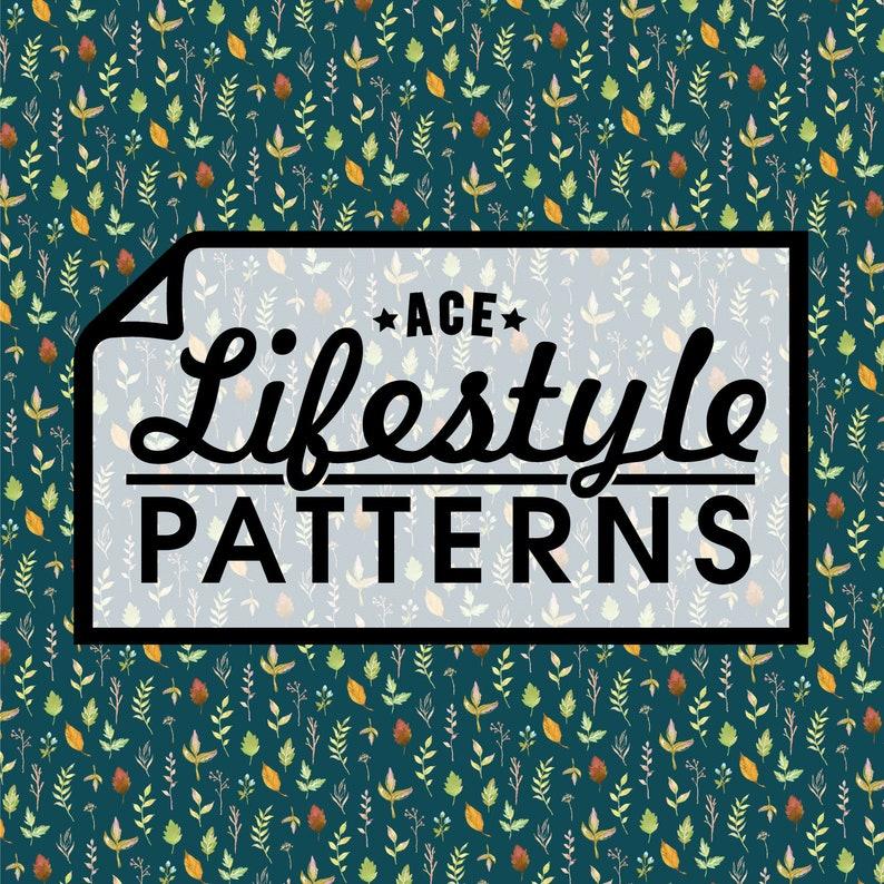 Leaf Me Be Heat Transfer Vinyl Lifestyle Pattern 1 Yard