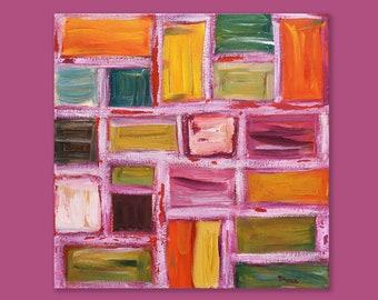 Ongebruikt Abstract painting | Etsy JQ-67