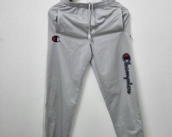 Vintage CHAMPION Sweatpants Big Logo Design e5af9829d7