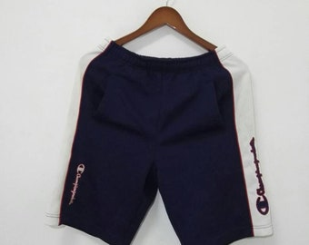 Vintage CHAMPION Short Pant Big Logo Design