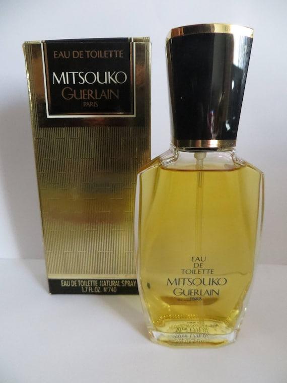 GUERLAIN Mitsouko Eau De Toilette spray 50ml sehr seltene Vintage