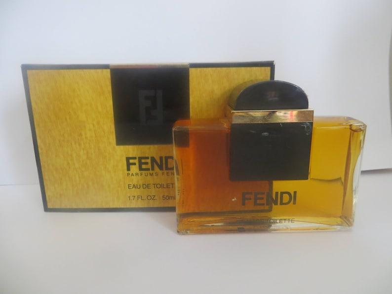 Fendi By Fendi Eau De Toilette 50ml For Women Very Rare Etsy