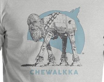 Chewalkka - Chewbacca Star Wars T-Shirt - funny, chewie