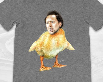 Nicolas Cage Duck T Shirt