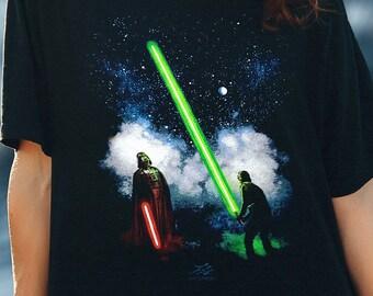 Star Wars Parody tshirt - Impressive Lightsabre Star Wars tee