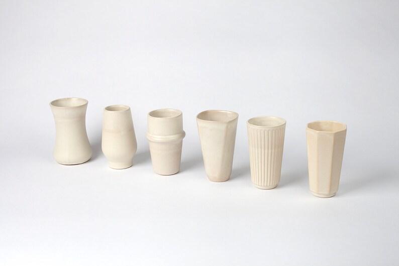 Multicultural cups  Ivory matt image 1