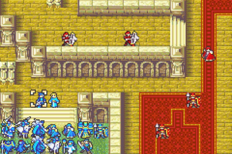 Fire Emblem the Last Promise fan made hack Gameboy Advance GBA