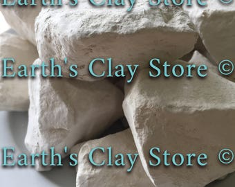 Natural, edible Georgia White Kaolin Clay Chunks
