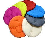 48 quot Papasan Cushion Replacement Round Cushion Chair Pad for Wicker Chair