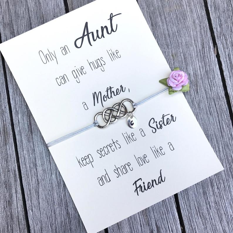 Aunt Bracelet New Gift Auntie Birthday And