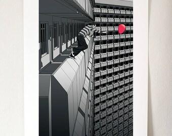 No Second Chance -  A3 Giclée Print