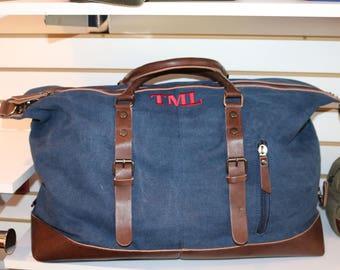 7510d29c8e More colors. Men s Monogrammed Duffle Bags-Weekender Bags in Tan