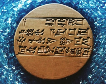 The Terrible Swimmer: Ancient Sumerian Proverb on a Clay Tablet
