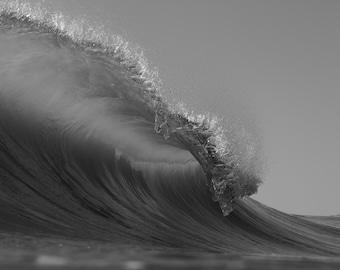 Black & White Wave #6